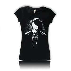 Women Cute The Joker Heath Ledger Batman adult blouse New shirt Free