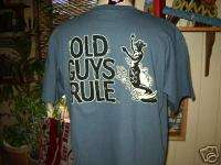OLD GUYS RULE SOUL SURFER SURFBOARD S/S BEACH SHIRT M