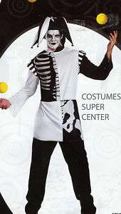 Kings Evil Jester Mens Halloween Costume XL: D020