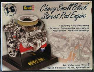 Revell CHEVY SMALL BLOCK STREET ROD ENGINE *NMIB*