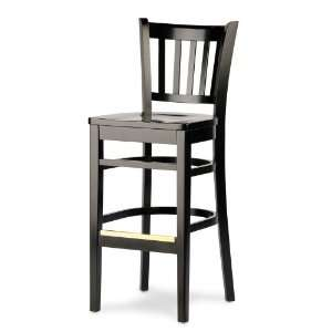 Grill Bar Stool with Black Finish
