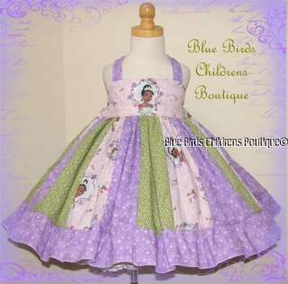 Disney PRINCESS and the FROG Dress BBCB Boutique PAGEANT Birthday 24m