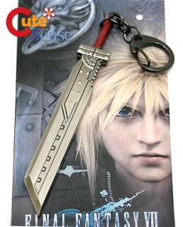 Final Fantasy Cloud Strife Sword Metal Key Chain