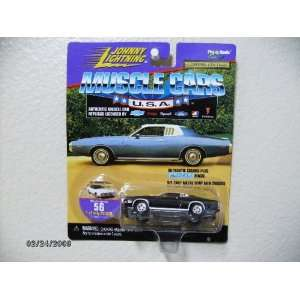 Johnny Lightning Muscle Cars 1973 Dodge Charger Blk and