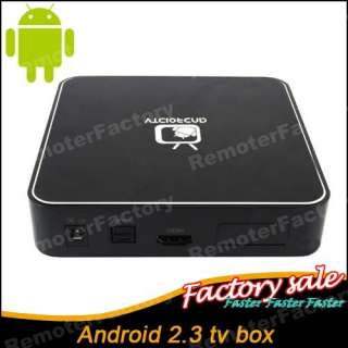 Google Android 2.3 TV Box HDMI 1080P Wifi Internet TV Set Top Box