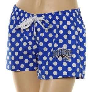 Orlando Magic Ladies Blue Polka Dot Galaxy Pajama Shorts