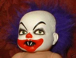 HAUNTED Scary Clown Mask Doll EYES FOLLOW YOU Horror