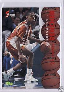 RARE 1995 5 SPORT TERRANCE RENCHER RED DIE CUT CARD #30