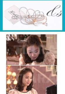 Ruce Korea/Drama MY PRINCESS KIM TAE HEE Tiara HairClip