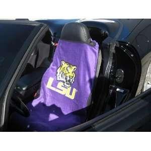 LSU Tigers Car Seat Cover   Sports Towel Sports