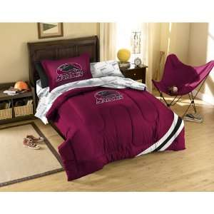 Southern Illinois Salukis NCAA Bed in a Bag (Twin