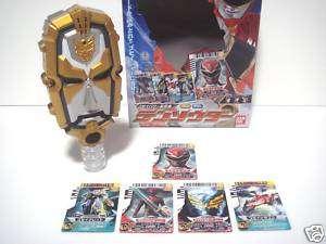 RARE BANDAI NEW Power Rangers Tensou Sentai Goseiger TENSOUDER Morpher