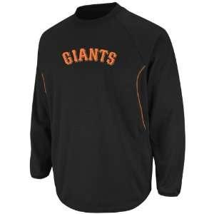 San Francisco Giants Therma Base 2012 Longsleeve Tech Fleece   Black