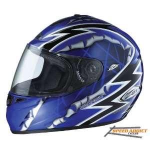 Tavani R Ripper II Blue DOT Full Face Street Helmet