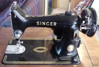 Antique Singer Sewing Machine Dec 6, 1954 99K NR