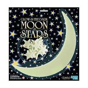GLOW IN THE DARK MOON AND STARS,Wall Stickers Decor
