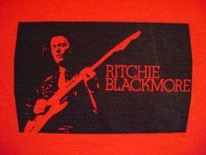 Richie Blackmore Deep Purple Rainbow tshirt