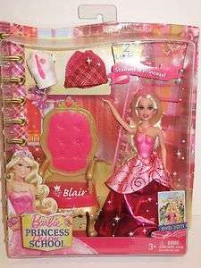 DOLL 2010 STUDENT PRINCESS CHARM SCHOOL BLAIR **6 INCHES TALL