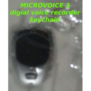 One World MicroVoice 3: Keychain Digital Voice Recorder with built in