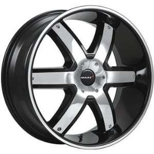 MAAS Stirling 22x9.5 Black Wheel / Rim 6x5.5 & 6x135 with