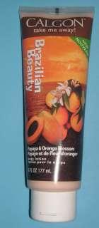 CALGON BRAZILIAN BEAUTY PAPAYA & ORANGE BLOSSOM FULL SZ