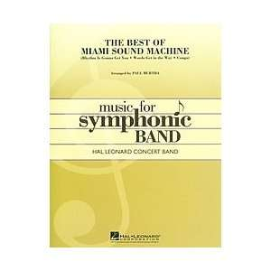The Best of Miami Sound Machine Concert Band Musical