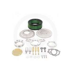 Yost Performance Pro Mod Breather Kit with Air Cleaner   Raw Finish
