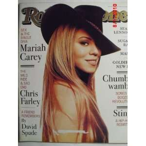 Stone Magazine, Issue 779, Mariah Carey cover Jann S. Wenner Books