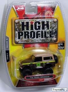 VERY RARE JADA HIGH PROFILE 1973 73 FORD BRONCO 4X4 BROWN WAVE 6