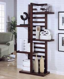 Modern Contemporary Bookcase Book Display Shelf Unique