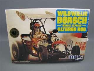 Sealed Wild Willie BORSCH Altered Rod Model Kit 1/25