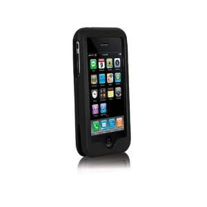 Macally Protective Leather Case for iPhone 3G/3GS   Black