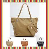 Women PU leather shoulder bag handbag satchel college school messenger
