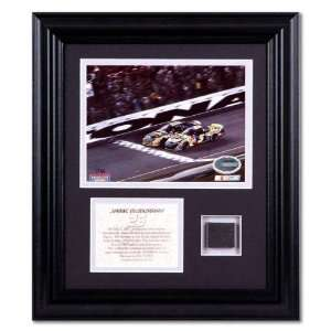 Jamie McMurray Pepsi 400 Race Winner Collectible with Race Used Tire