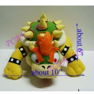 New Super Mario Brothers Plush Figure   10 Bowser
