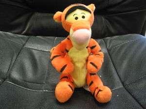 plush bean bag Tigger doll, good condition Mattel