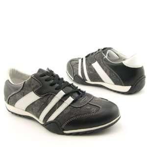 Steve Madden Mens Kareem 7M black white sneaker shoe