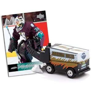 Deck Anaheim Ducks Die Cast Mini Zamboni with Ilya Bryzgalov Card