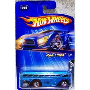 2004 Hot Wheels Red Lines Series 1/5 Surfin SCool Bus 164 Scale