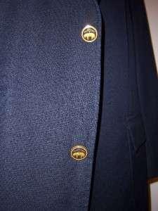 RECENT (F04) Brooks Brothers LORO PIANA S130s navy enamel button