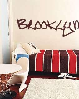 Vinyl Wall Decal Sticker Brooklyn NYC Large 61x17
