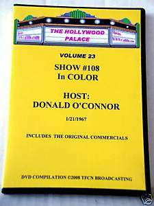 THE HOLLYWOOD PALACE DVD VOLUME 23 Donald OConnor