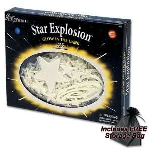 com Star Explosion   Glow In The Dark 725 Stars and Astros Plus FREE