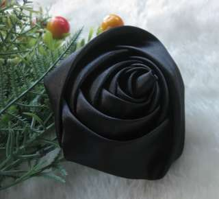 7x Large Big Satin Ribbon Rose Flower Bow Craft/ DIY/Wedding/Appliques