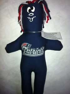 New England PATRIOTS Dammit Doll Frustration Stress NFL