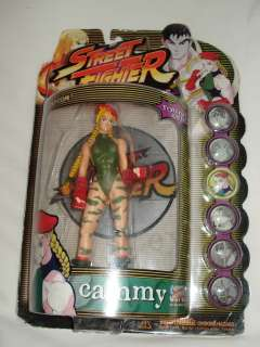 Street Fighter 7 Action Figures REMY & CAMMY Lot
