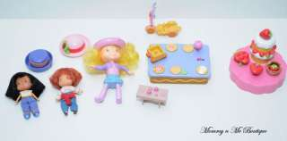 Strawberry Shortcake Mini Dolls Accessories Lot Toys