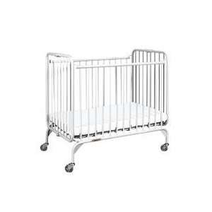 StowAway Compact Size Steel Folding Crib Baby