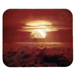 Mushroom Cloud Mouse Pad: Office Products