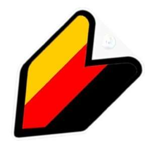 JDM Germany German Flag Car Decal Badge Automotive